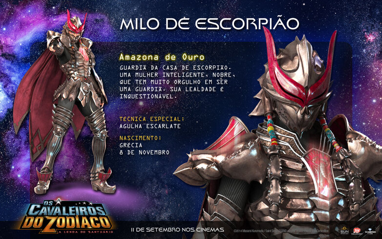 VIII - Armure du Scorpion (Scorpio Cloth)