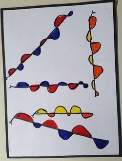 Les vagues avec Calder