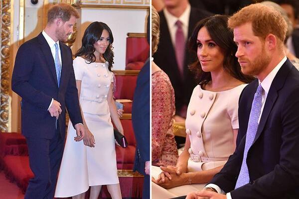 Harry, Meghan et la reine