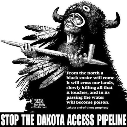 Dakota no pipeline