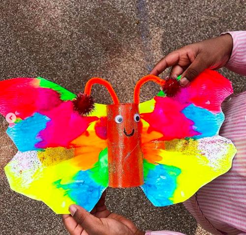 Peinture papillon