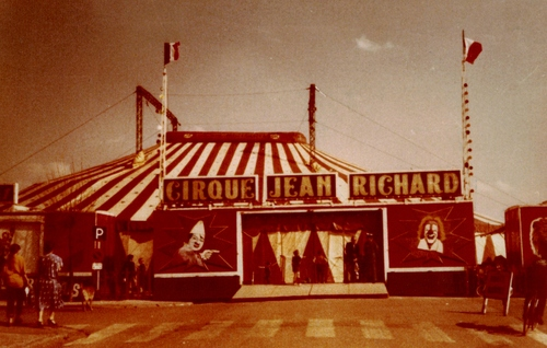 le cirque Jean Richard en  1979 ( photos Monique Yvan)