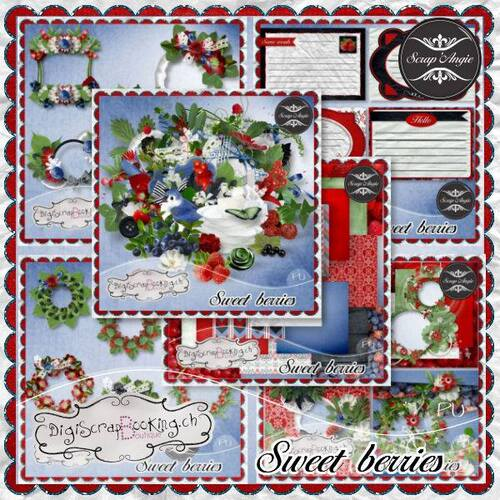 "Kit ""Sweet berries bundle"""