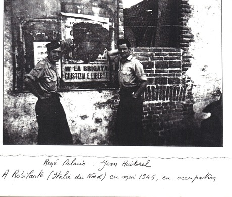 * Etape n° 50 - Alpes Maritimes - 27 Avril-8 Mai 1945 - Descente de la DFL en ITALIE - le B.M. 5 dans le Mentonnais