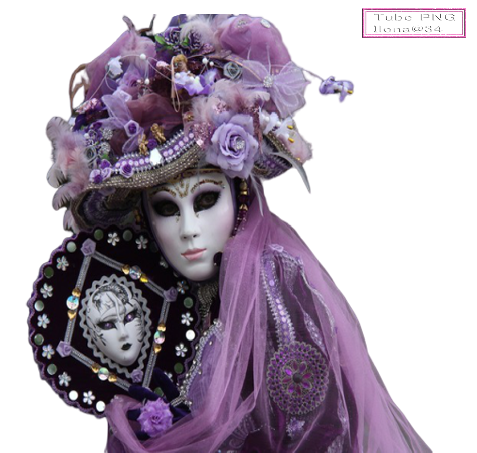 tube masque carnaval,