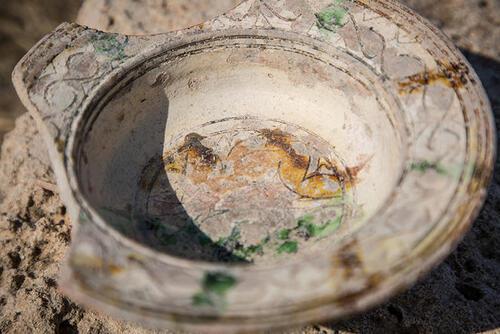 Fouilles du cimetière chrétien d'Atlit : étude des tombes des croisés