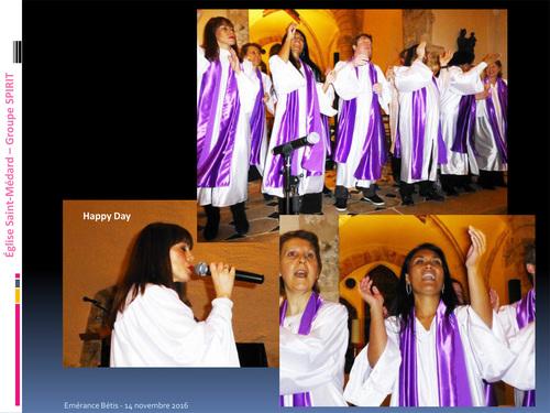 Concert Gospel à l'église d'Elancourt Village