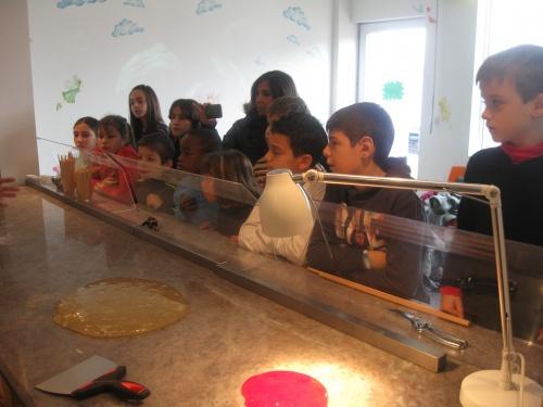 Novembre 2012 : Visite d'une confiserie artisanale à Fitilieu