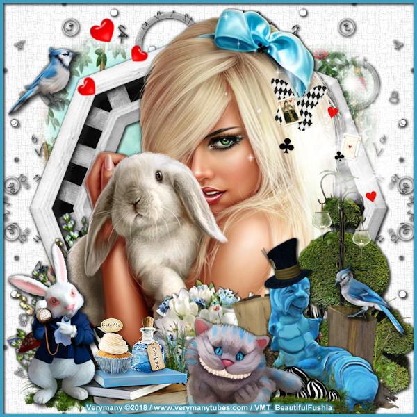 8 Alice aux pays des merveilles