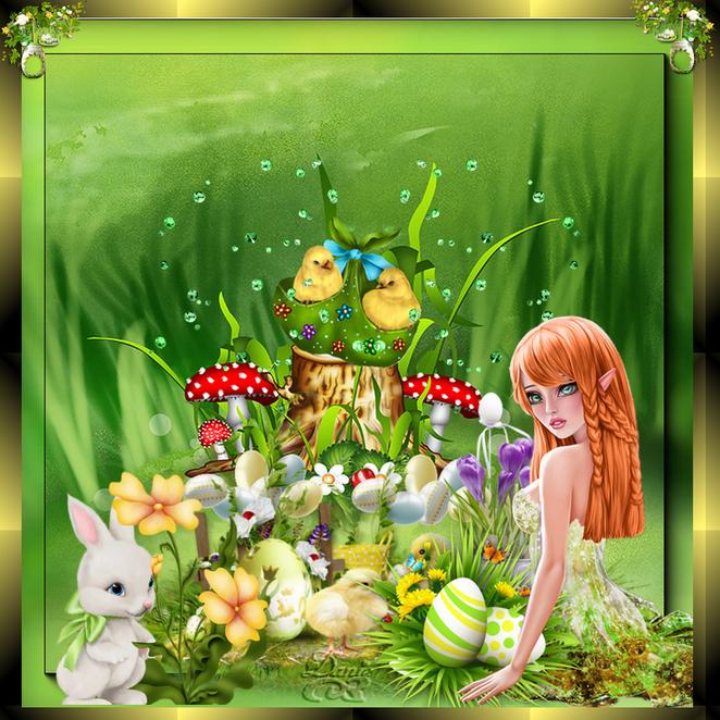 Tutos Pâques..Maryse