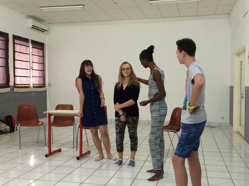 Une nouvelle troupe de comédiens : 2016/2017