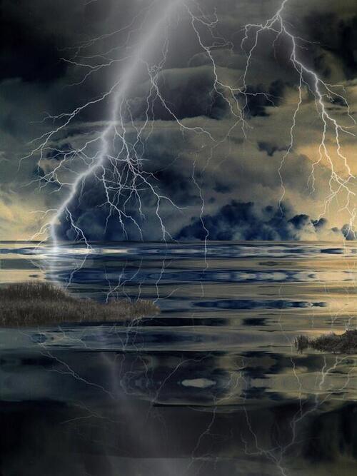 Les esprits d'orage
