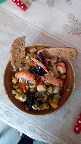 Atelier cuisine du 16 juin : Pistou de la mer