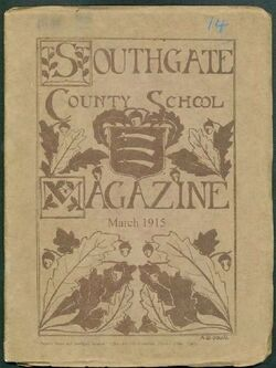 Cecil and Olive Hughes at Southgate County school