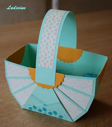 """Avec la pochette """"Plaisir de créer - Pâques""""... : déco -2"""