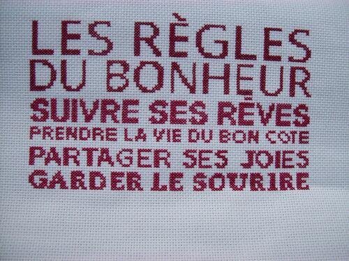 "SAL éphémère ""Les règles du bonheur"" - 3"