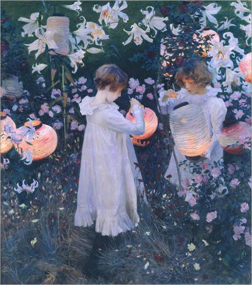 Carnation, Lily, Lily Rose - John Singer Sargent-1885-86