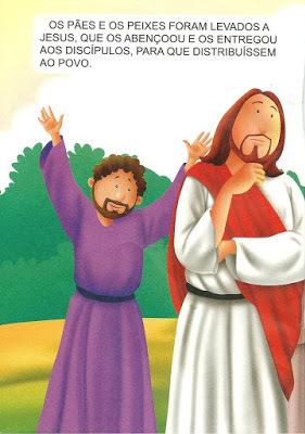 Jesus e a multiplicação de Pães