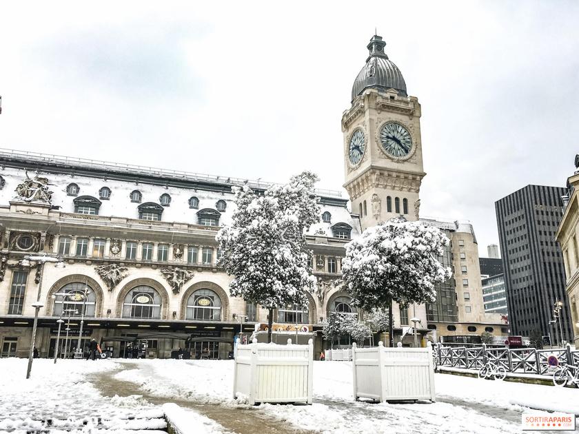 Paris sous la neige ... toute une histoire..