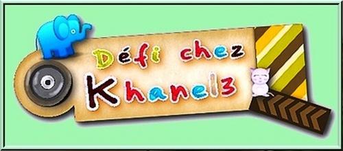 Défis khanel3