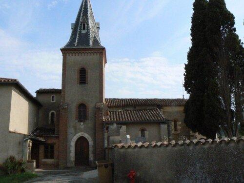 L'église de Saliésol