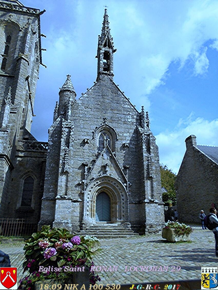 Eglise  Saint  RONAN  de LOCRONAN  2/3     D   17/09/2018