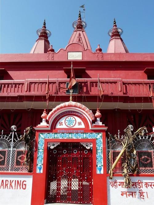 un ashram dans la ville sainte d'Haritwar