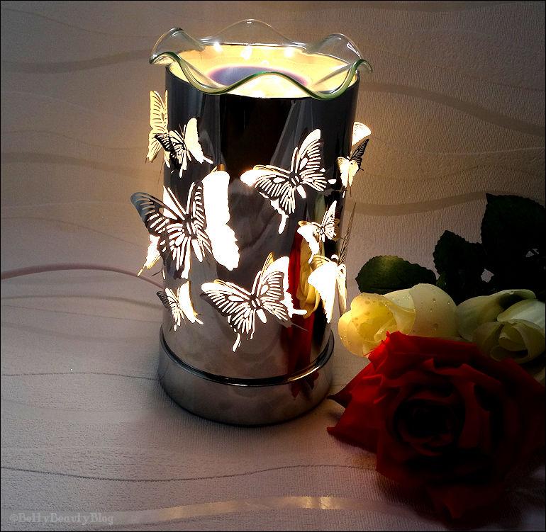 Ma lampe qui diffuse les senteurs et nouveautés Yankee Candle