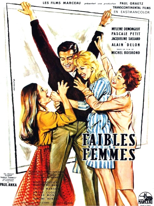 FAIBLES FEMMES -  ALAIN DELON BOX OFFICE 1959