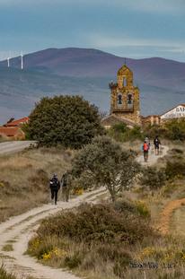 4e jour de marche Astorga - Rabanal del Camino : 21km 5h30 de marche - 350m de dénivelé positif