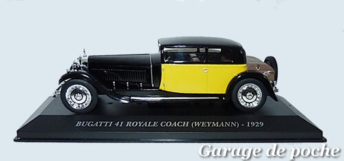 Bugatti Royale Type 41 Coach Weymann 1929