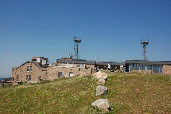 La station du Mont Aigoual