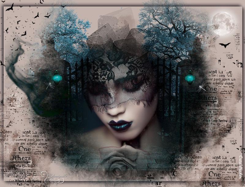 *** 09-Gothique Bleue  ***