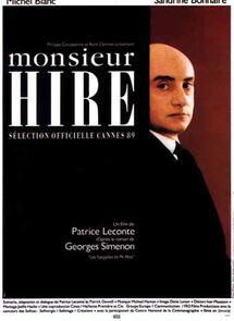 MONSIEUR HIRE BOX OFFICE FRANCE 1989