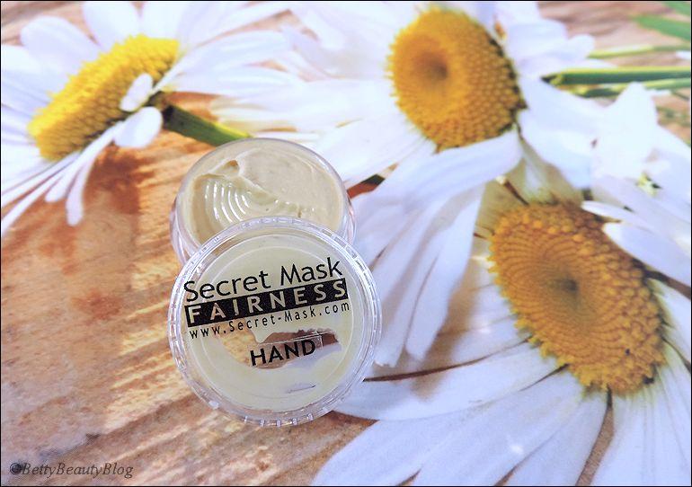 Secret Mask nouvelle crème pour les mains  (concours 3 ans)