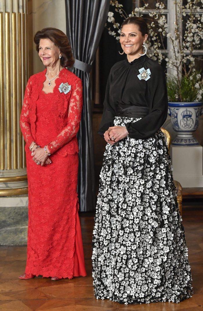 Dîner de gala pour les parlementaires en Suède