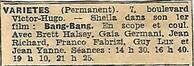 08 février 1967 : Sheila triomphe à Nice. Mise à jour 26/01