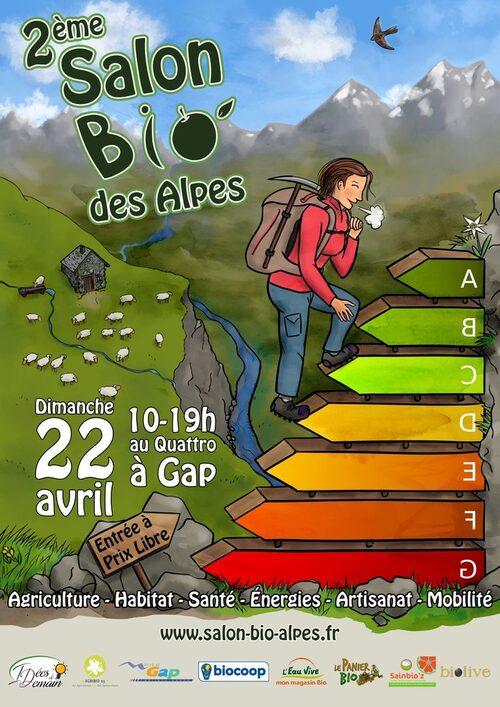 *Deuxième SALON BIO à Gap le 22 avril !