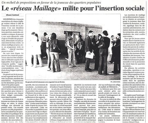 Réseaux Maillge sont les défenseurs de l'intégration sociale