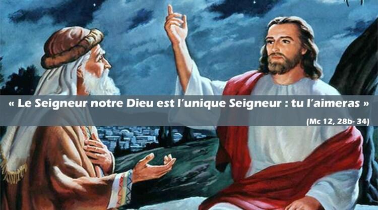 Homélie - 31ÈME DIMANCHE DU TEMPS ORDINAIRE - 4 novembre 2018