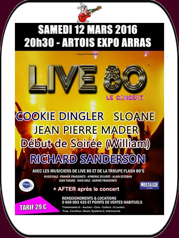 Brocantes, lotos, musique, théâtre et LIVE 80 ce sont les loisirs à ARRAS et ses environs ce week-end.