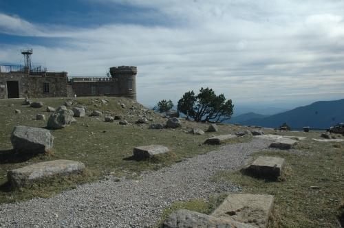 Le mont Aigoual 1567m