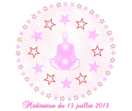 Méditation du 13 juillet 2018