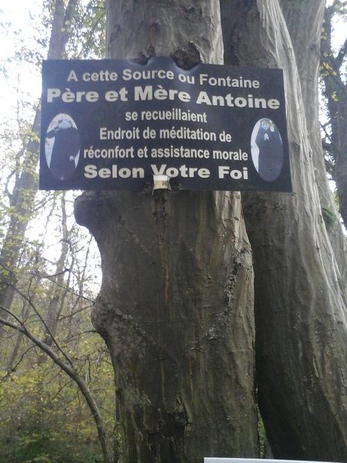 Source du Père Antoine (FaceBook Temple Antoiniste de Retinne)