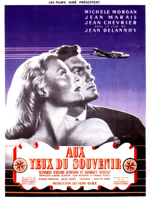 AUX YEUX DU SOUVENIR - BOX OFFICE JEAN MARAIS 1948