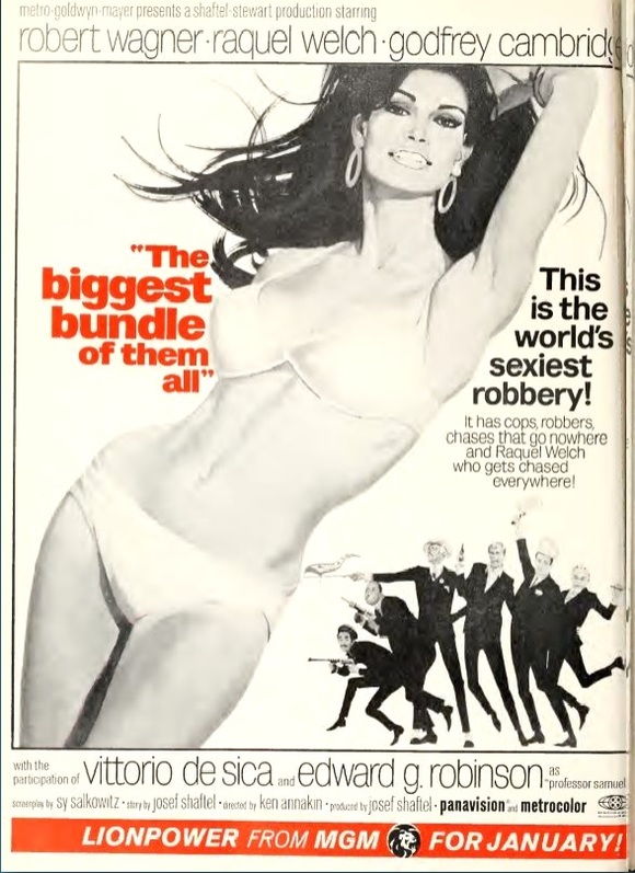 THE BIGGEST BUNDLE OF THEM ALL box office usa 1967