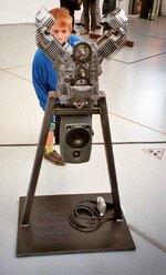 Bayrles Maschinenkusnt auf der documenta