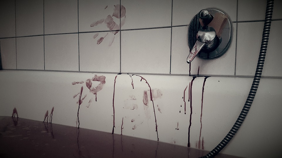 Bain De Sang, Bath, Crime, Additif De Bain, Psychopathe