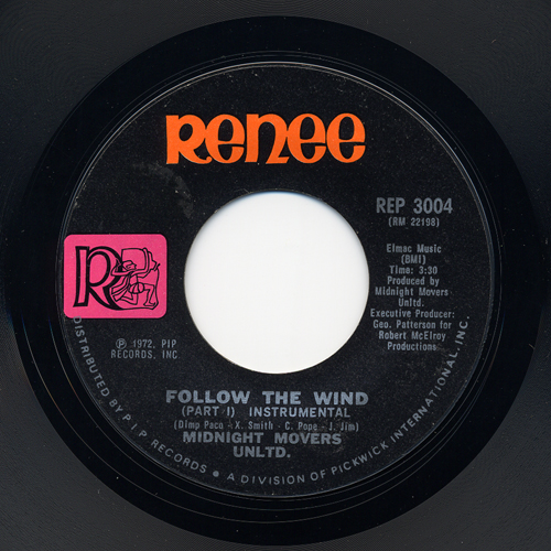 1972 : Single SP Renee Records RE / REP 3004 [ US ]