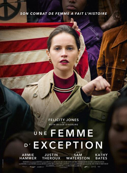 UNE FEMME D'EXCEPTION de Mimi Leder avec Felicity Jones, Armie Hammer, Justin Theroux - La bande-annonce ! Le 2 janvier 2019 au cinéma